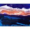 Coral Sunset by Jennifer Mone Hill