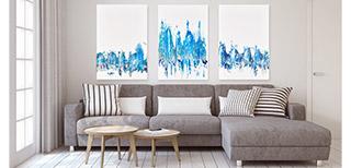 Topaz Aquamarine Sapphire by Jennifer Mone Hill